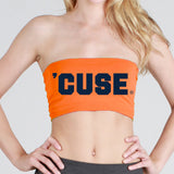Syracuse Orange Bandeau Top