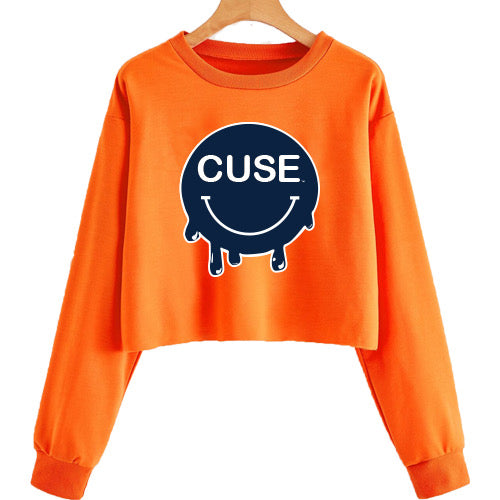 Syracuse Smile Cropped Crewneck