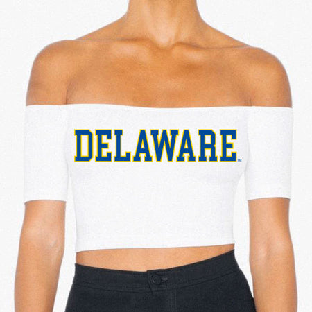 Delaware Off the Shoulder Crop Top - lo + jo, LLC