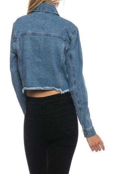 Denim Jacket - lo + jo, LLC