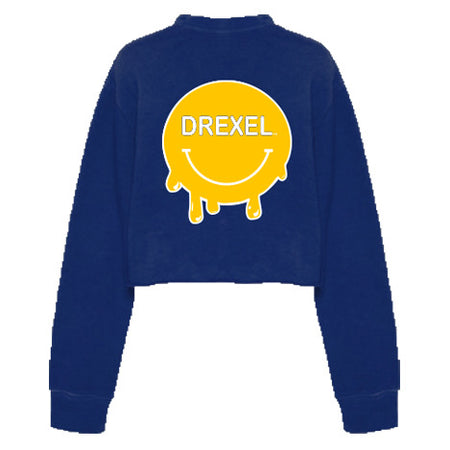 Drexel Smile Cropped Crewneck