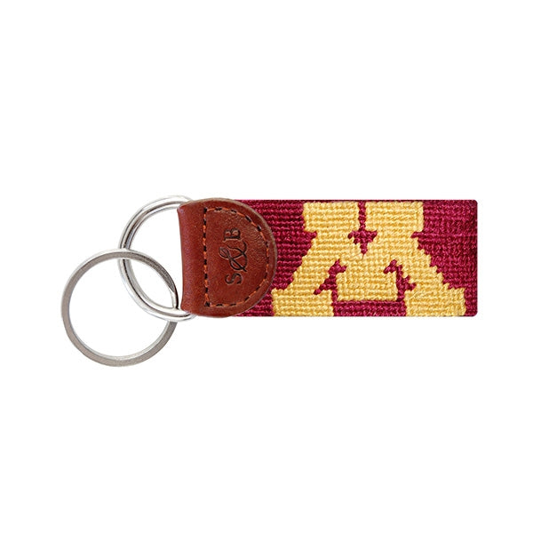 University of Minnesota Needlepoint Key Fob
