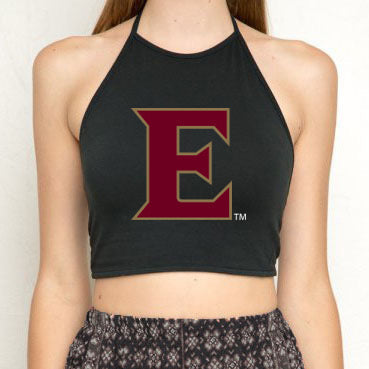Elon Black Halter Top