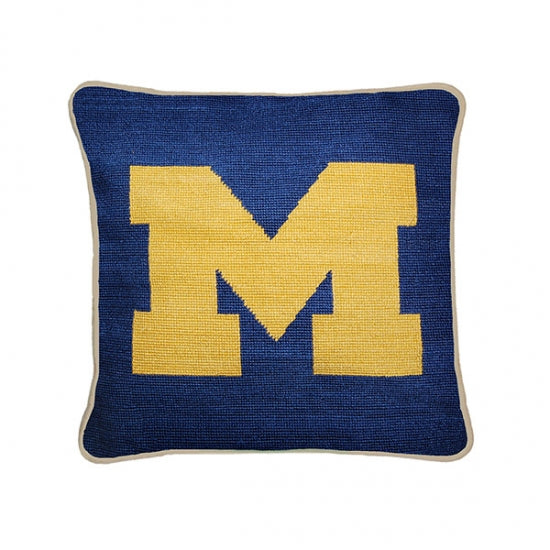 Michigan Needlepoint Pillow