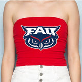 FAU Red Tube Top