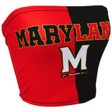 Maryland Terps Two Tone Tube Top