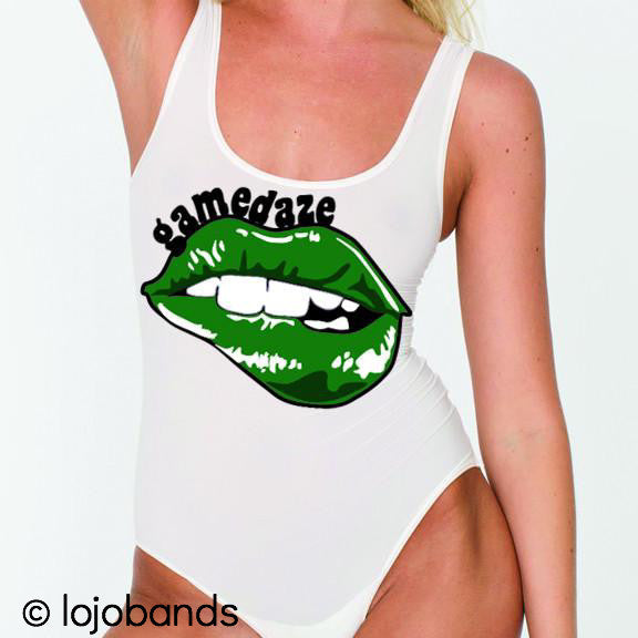 Gamedaze Lips Tank Bodysuit - lo + jo, LLC