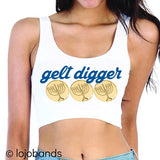 Gelt Digger Crop Top - lo + jo, LLC