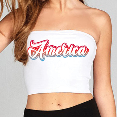 America Gradient Tube Top