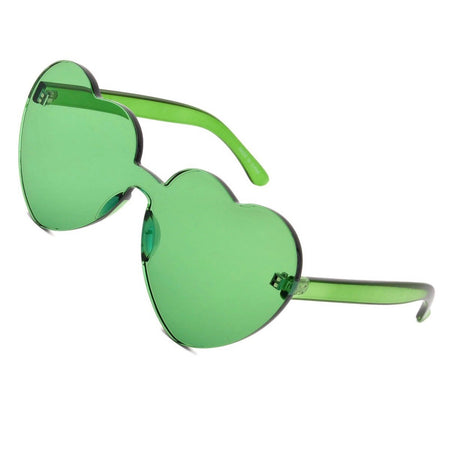 Green Love Sunglasses - lo + jo, LLC
