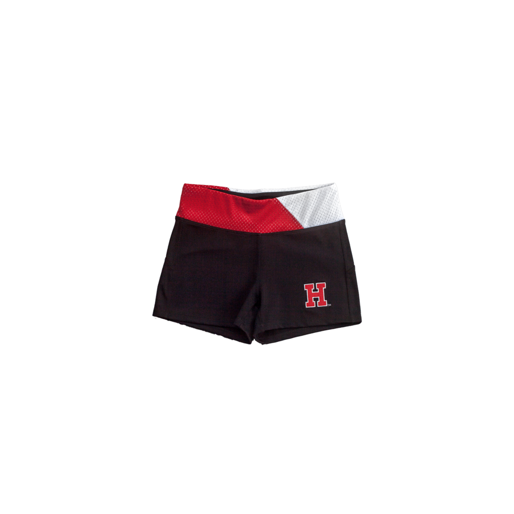 Harvard Yoga Shorts - lo + jo, LLC