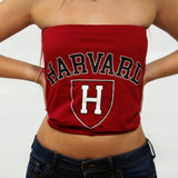 Harvard University Tube Top - lo + jo, LLC