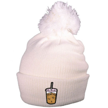 Iced Coffee Beanie Hat