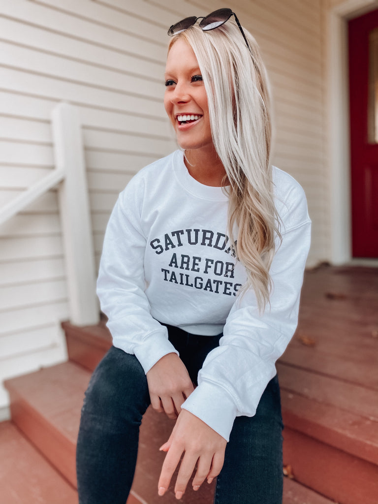 Saturdays are for Tailgates Sweatshirt