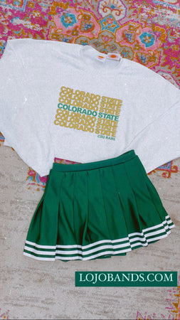 Colorado State Repeat Cropped Crewneck