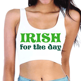 Irish For The Day Crop Top
