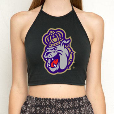 JMU Black Halter Top