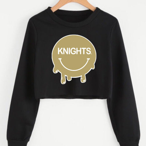 UCF Smile Cropped Crewneck