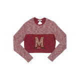 University of Maryland Terry Crop Top