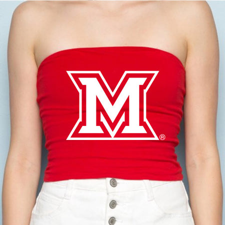 Miami University Red Tube Top
