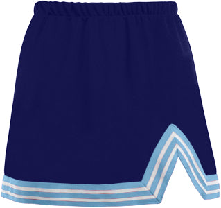 Navy & Light Blue V-Cut Tailgate Skirt