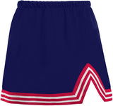 Navy & Red V-Cut Tailgate Skirt