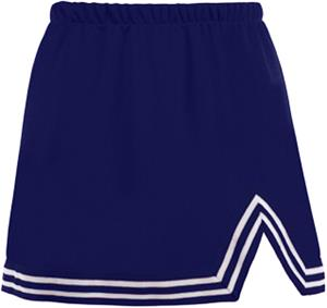 Navy & White V-Cut Tailgate Skirt