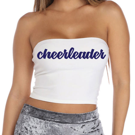 Cheerleader Tube Top - lo + jo, LLC
