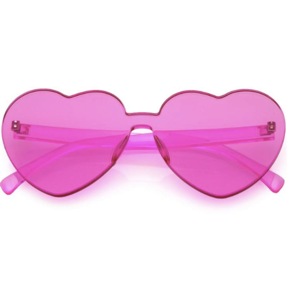 Pink Love Sunglasses