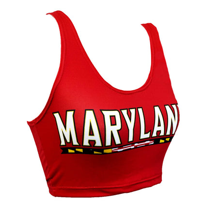 Maryland Terps Crop Top