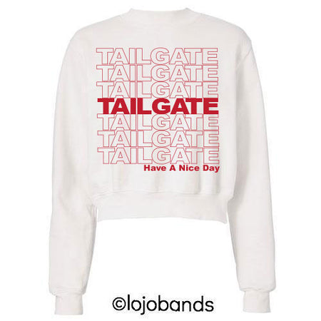 Red Have A Nice Tailgate Sweatshirt