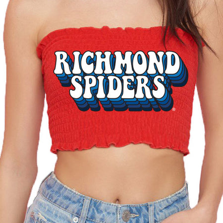 Richmond Spiders Smocked Top
