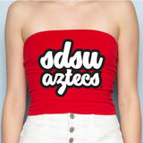 San Diego State Aztecs Red Tube Top