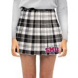 SMU Mustangs Plaid Skirt