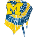 University of Michigan Tie Dye Top