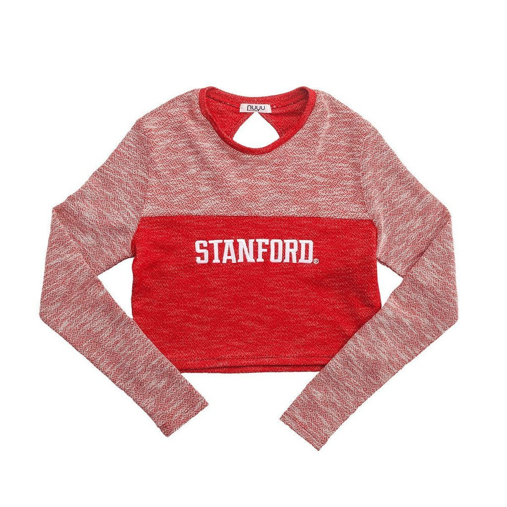 Stanford Terry Crop Top
