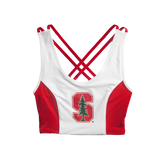 Stanford Sporty Cropped Tank