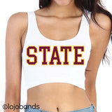 State Scoop Neck Crop Top