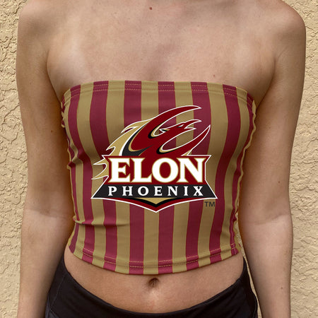 Elon Striped Tube Top