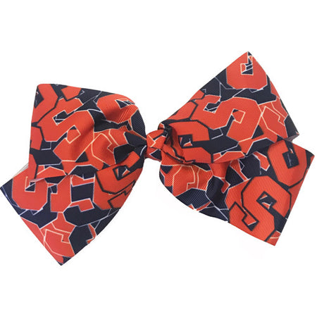 Syracuse Tailgate Hair Bow