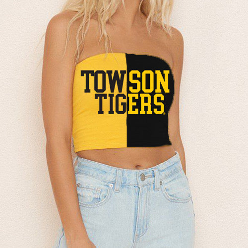 Towson Two Tone Tube Top