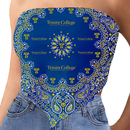 Trinity College Bandana Top