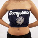 Georgetown University Tube Top - lo + jo, LLC