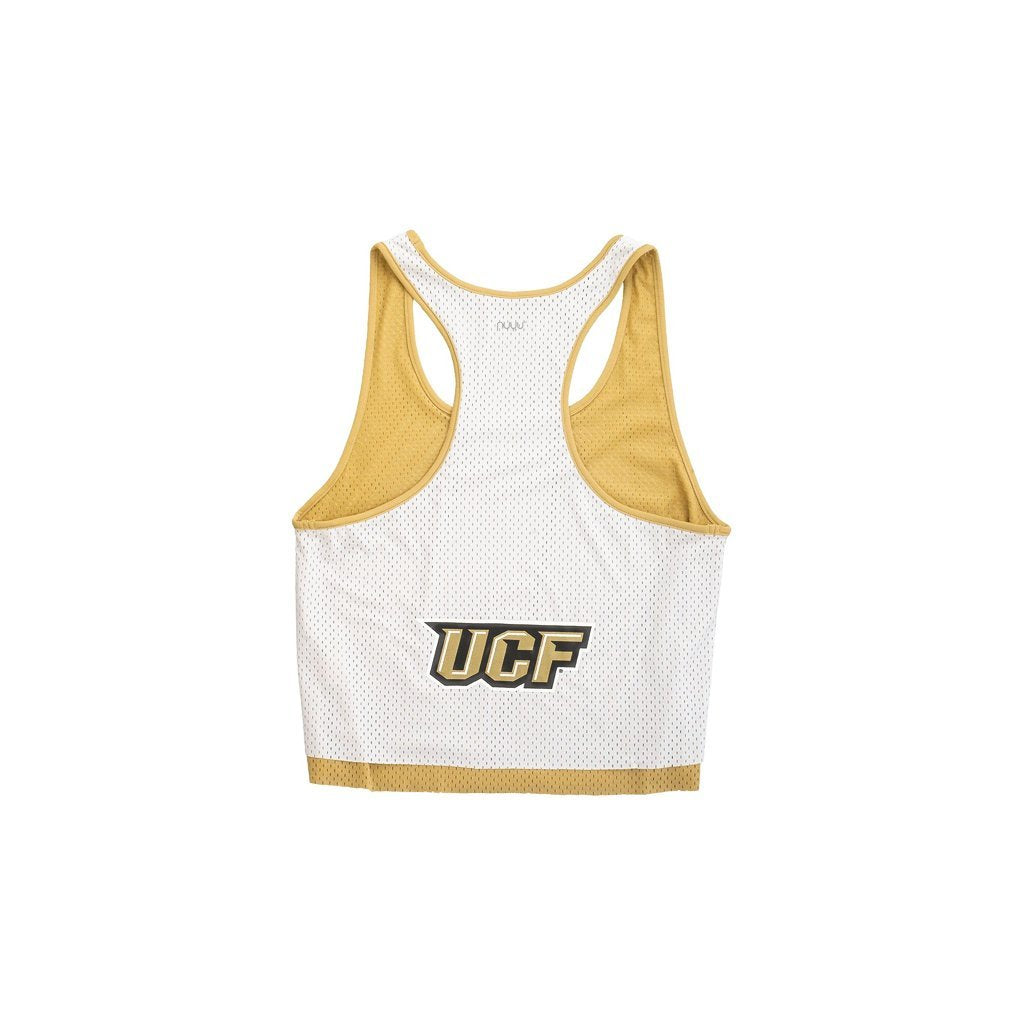 University of Central Florida UCF White Mesh Tank