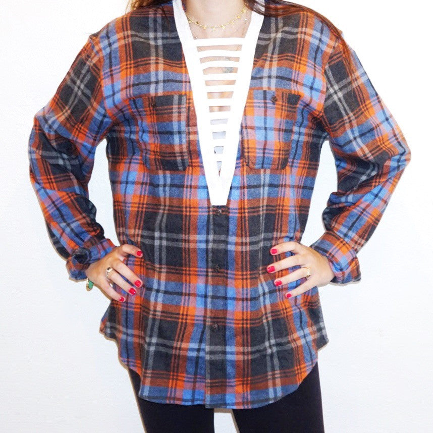 White Ladder Flannel