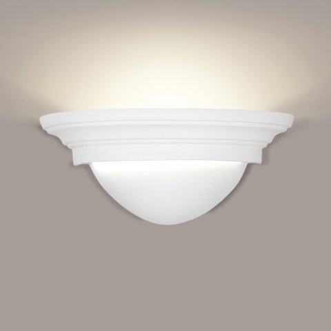 A19 102-CFL13-PS Islands of Light Collection Minorca/Majorca Pistachio Finish