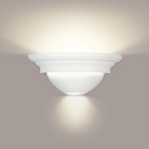 A19 103ADA-CFL13-PS Islands of Light Collection Formentera/Ibiza Pistachio Finish