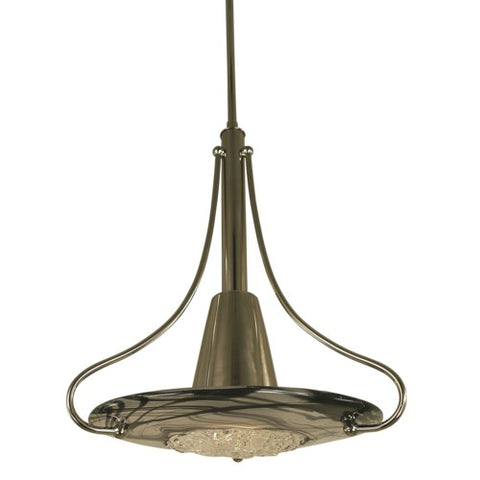 Framburg 1093-MB/GL 1-Light Mahogany Bronze Brocatto Pendant