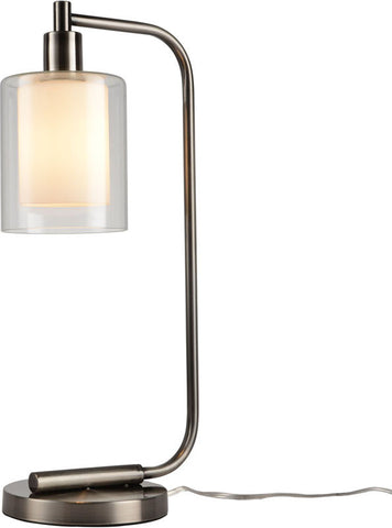 Woodbridge Lighting 14781ATN Alaina 1-light Table Lamp - PeazzLighting