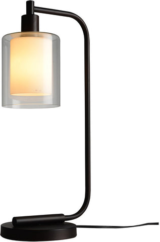 Woodbridge Lighting 14781MEB Alaina 1-light Table Lamp - PeazzLighting